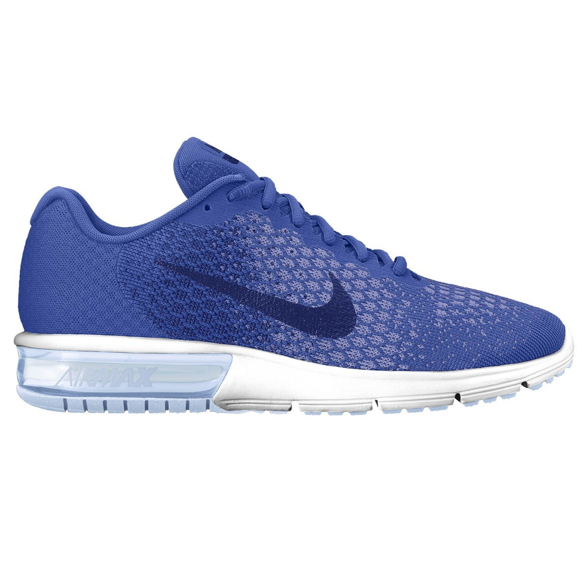 Adaptable Nike Air Max Sequent 2 Legion Blue Black Smokey Blue White 852461 402 Men's Casual Shoes Sneakers 852461 402