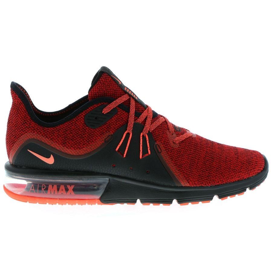 zapatillas nike air max hombres rojas