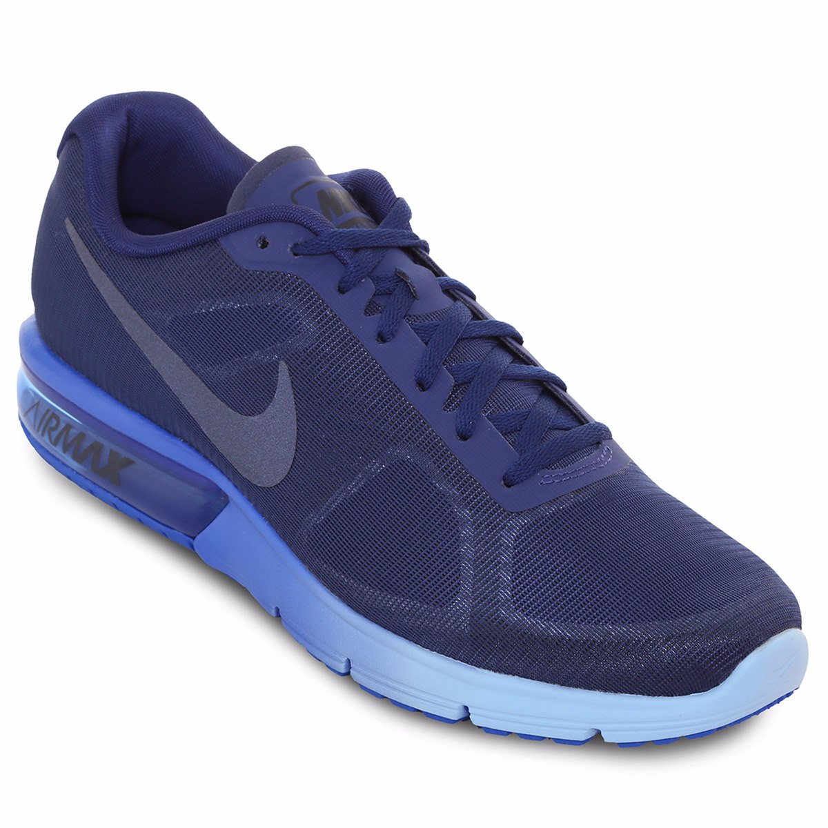 zapatilla azul nike air max sequent