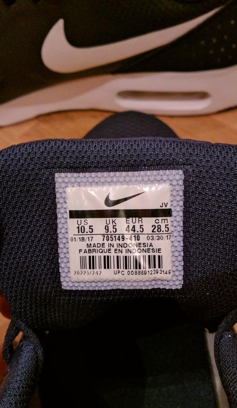 reputable site b5482 162a1 zapatillas nike air max tavas azules originales. Cargando zoom.