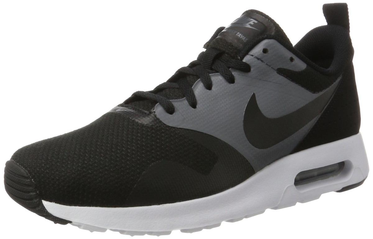 ... new style zapatillas nike air max tavas se negro negro gris oscur  cargando zoom. 7ae91 ec8a7a0d8163f
