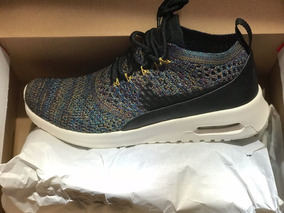 air max thea ultra fly knit negras