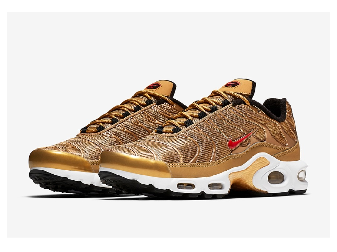 competitive price 5890a 6b0db zapatillas nike air max tn plus ultra gold. Cargando zoom.
