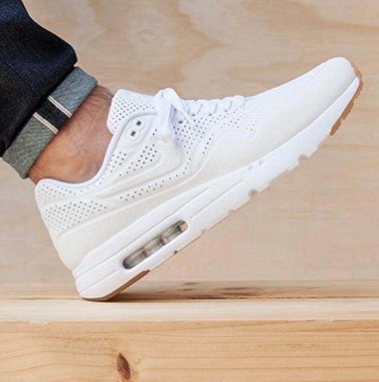 super popular cc420 abce0 Zapatillas Nike Air Max Ultra Moire Blanca Hombre Mujer - $ 3.699,00 ...