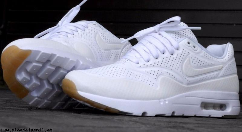 Zapatillas Nike Air Max Ultra Moire Whiteblanca Hombre-mujer ...