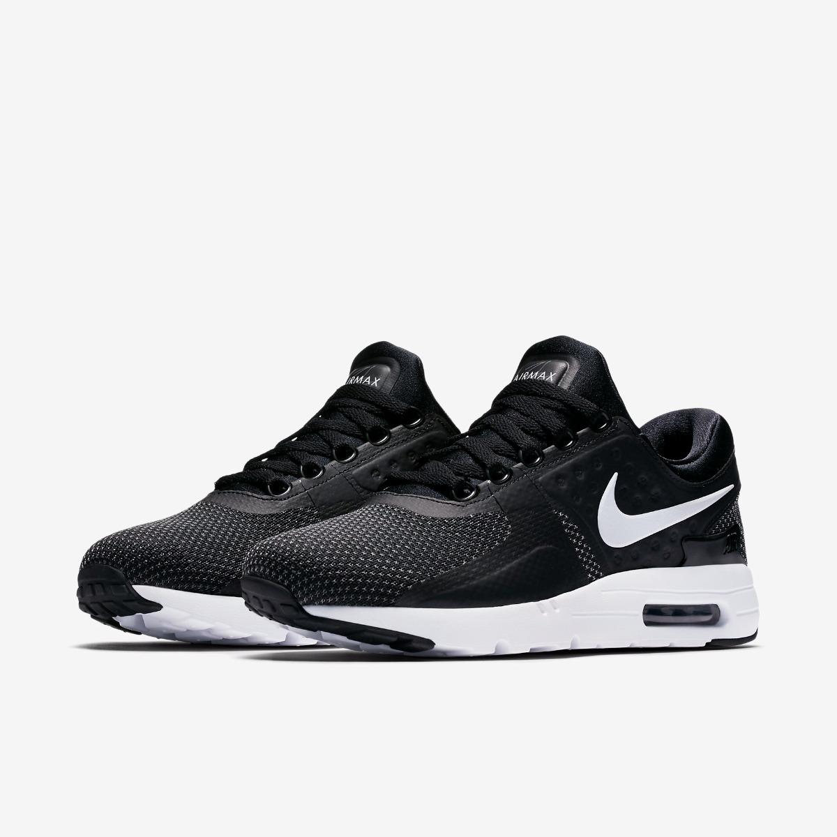 Zapatillas Nike Air Max Zero Essential Black Negro
