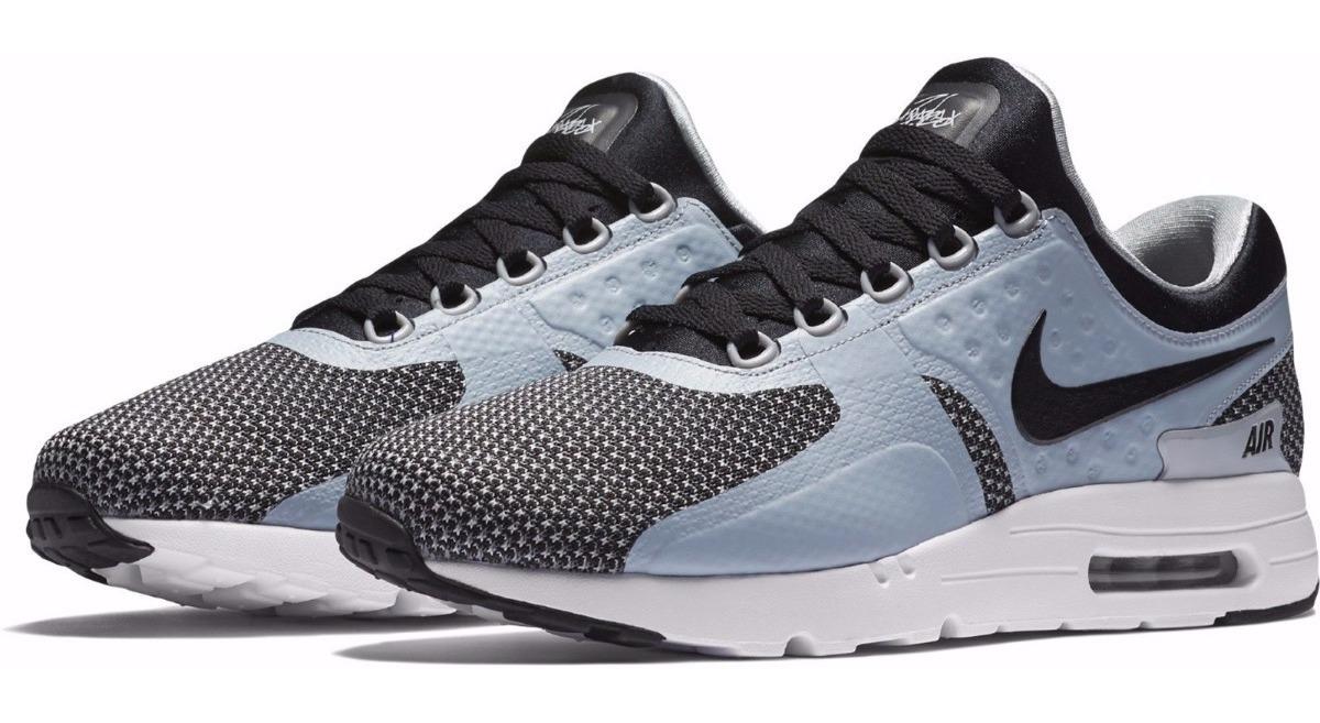 Zapatillas Nike Air Max Zero Essential Black Negro Plomo