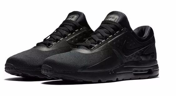 eb6ba0ea1e Zapatillas Nike Air Max Zero Essential Triple Black A Pedido ...