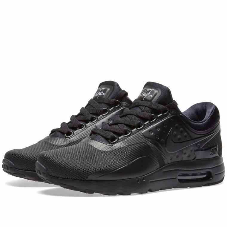 6c7d1e62b9 ... italy zapatillas nike air max zero essential triple black negro s 38990  en mercado libre af673