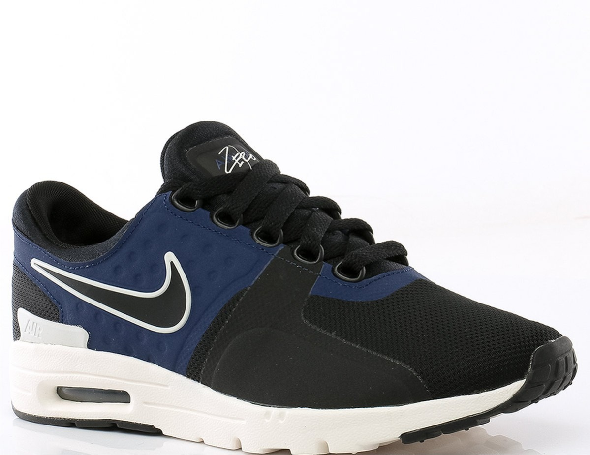 62c929a0950 ... discount zapatillas nike air max zero. negro azul mujer. cargando zoom.  cdefa ffd0a