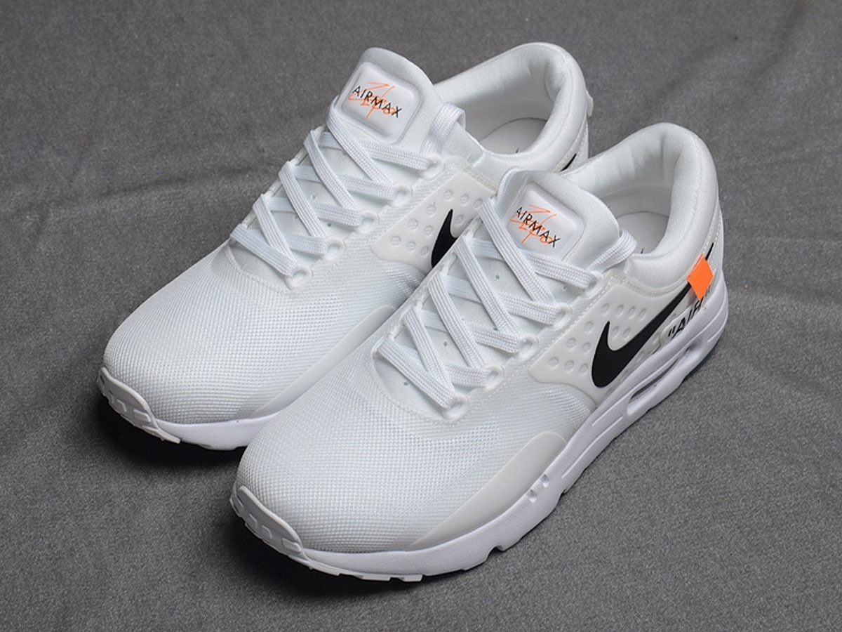 f8e376b12 3 999 Mercado Max Nike 00 Air En Off Zapatillas Zero Libre White Op6xRC