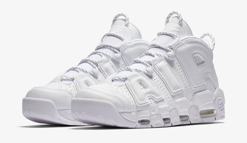 competitive price caa49 38fd8 Zapatillas Nike Air More Uptempo 3m Blanco Nuevo Original - S  559,90 en  Mercado Libre