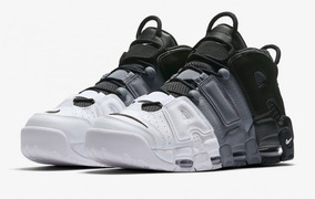 Zapatillas Nike Air More Uptempo Tri color Blanco Negro Gris