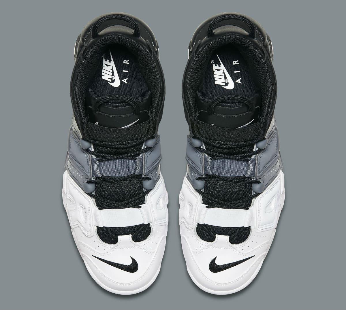 cd466522d075a zapatillas nike air more uptempo tri-color blanco negro gris. Cargando zoom.
