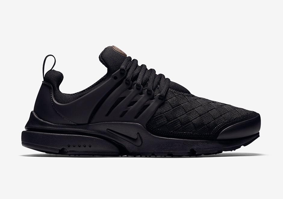 e3e8bd32ec65a ... reduced zapatillas nike air presto woven triple black sneaker unicas. cargando  zoom. 43b2f 1826b