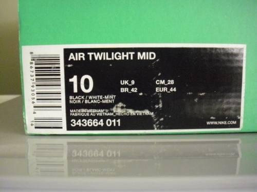 Zapatillas nike air twilight mid talla 10 us & 28 cm gratis