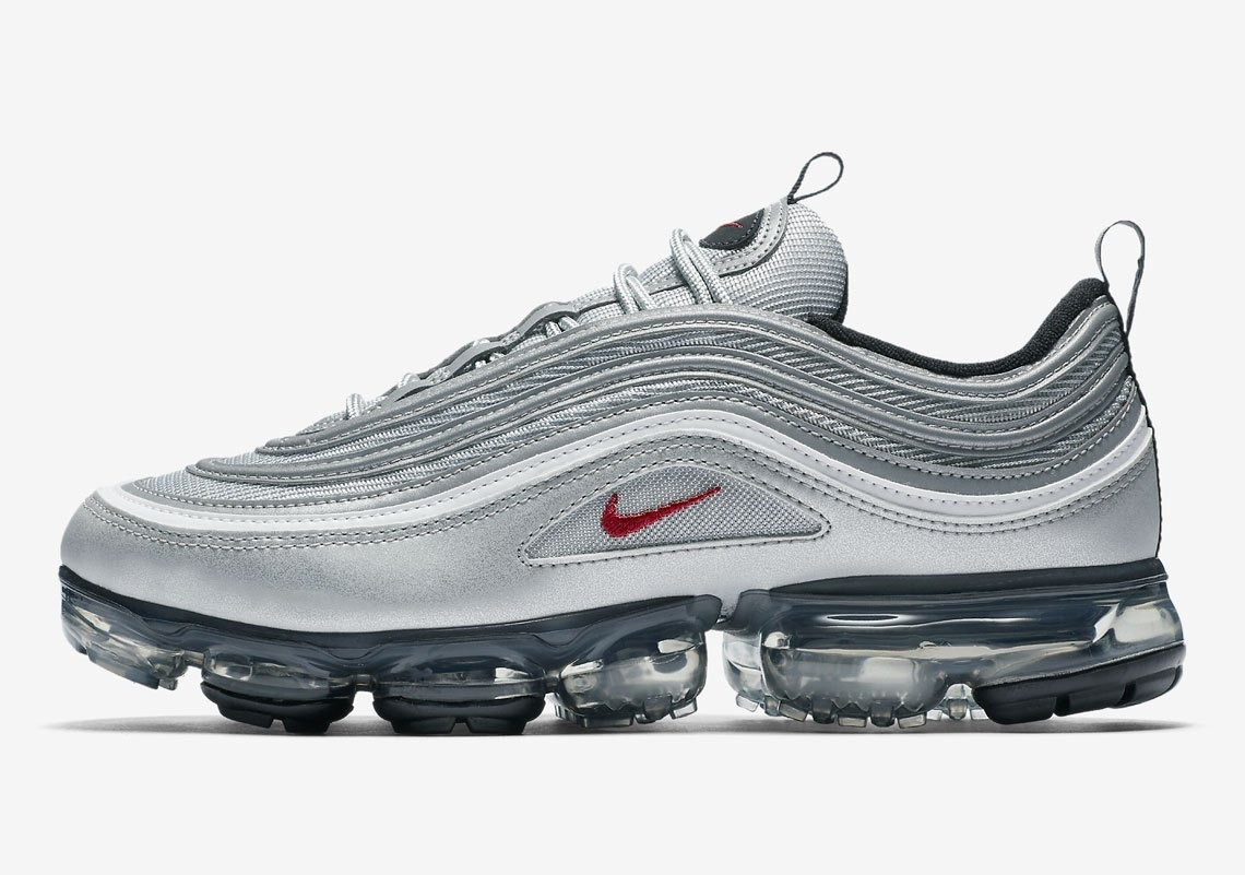 huge selection of 99e4c 88e93 Zapatillas Nike Air Vapor Max 97 Silver Bullet Original 2018