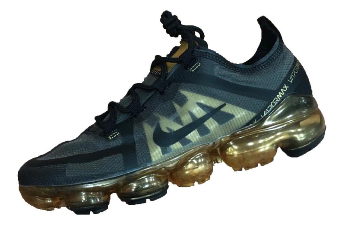 Zapatillas Nike Air Vapormax 2019 Black Gold Hombre