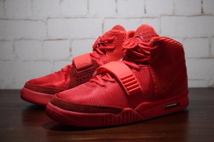 583e3d9cf33 Zapatillas Nike Air Yeezy 2 Basketball   Red - S  449