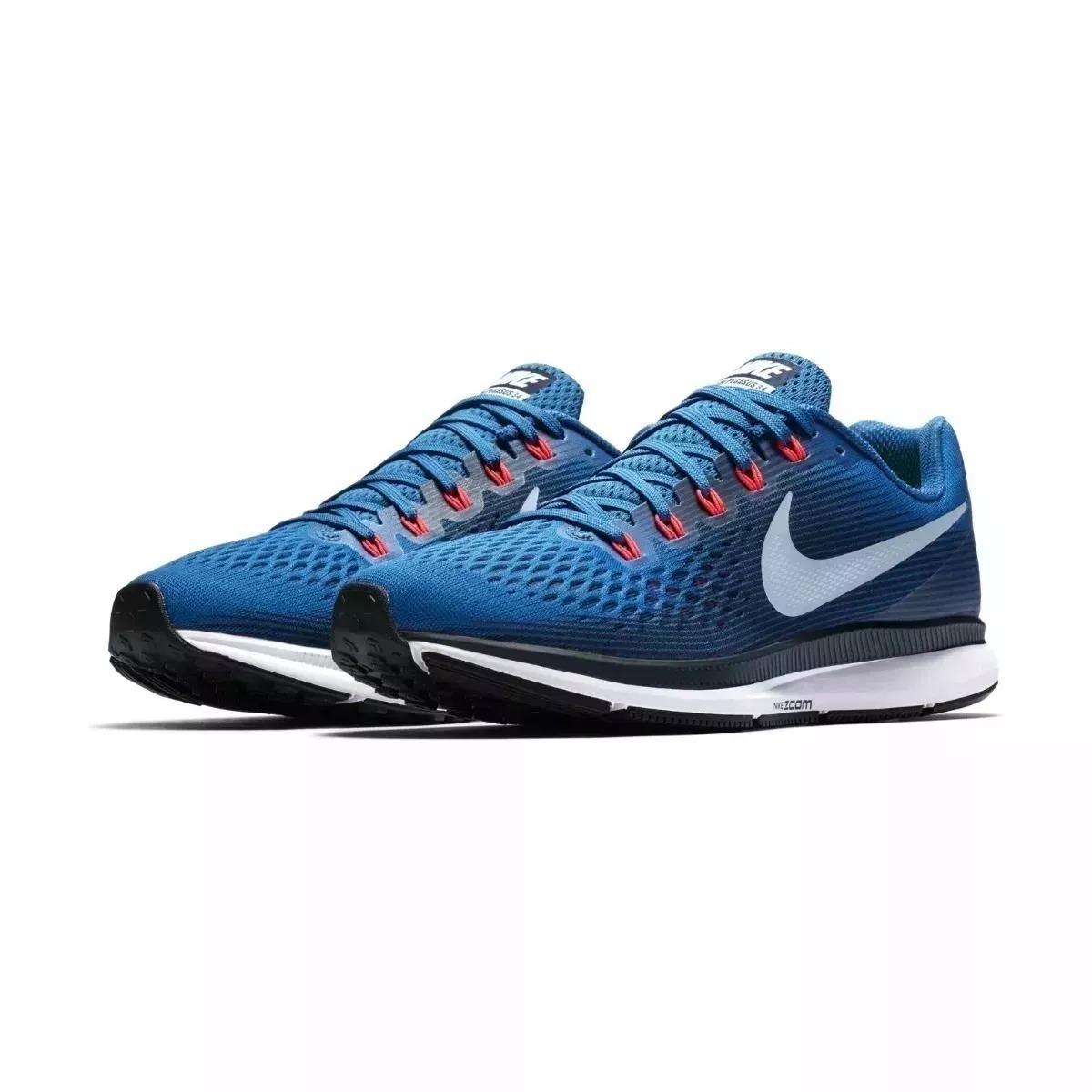 dc0a1a02456 zapatillas nike air zoom pegasus 34 running sale hombre azul. Cargando zoom.