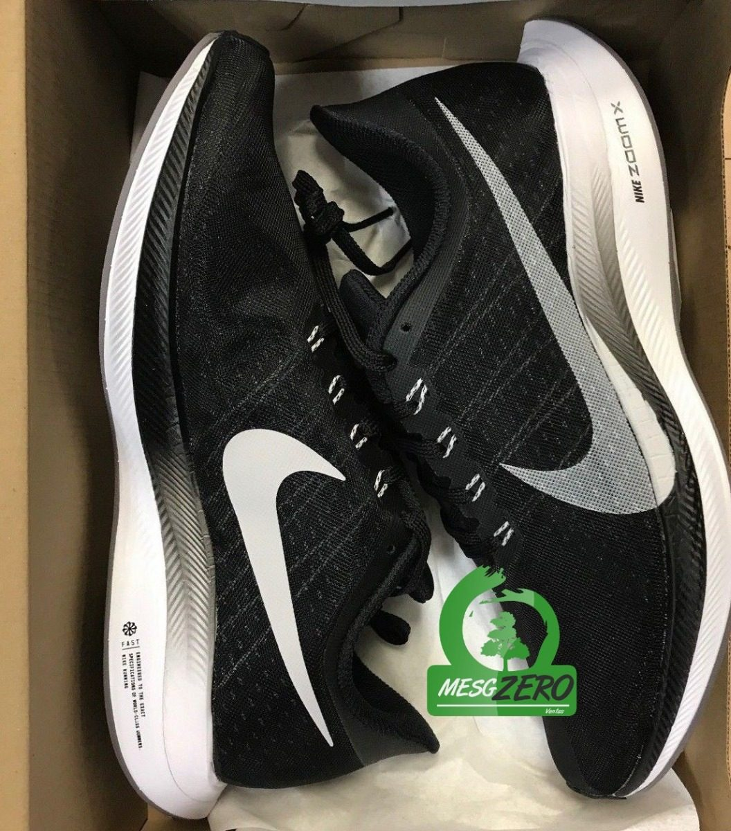 Zapatillas Nike Air Zoom Pegasus 3 Negro y Blanco