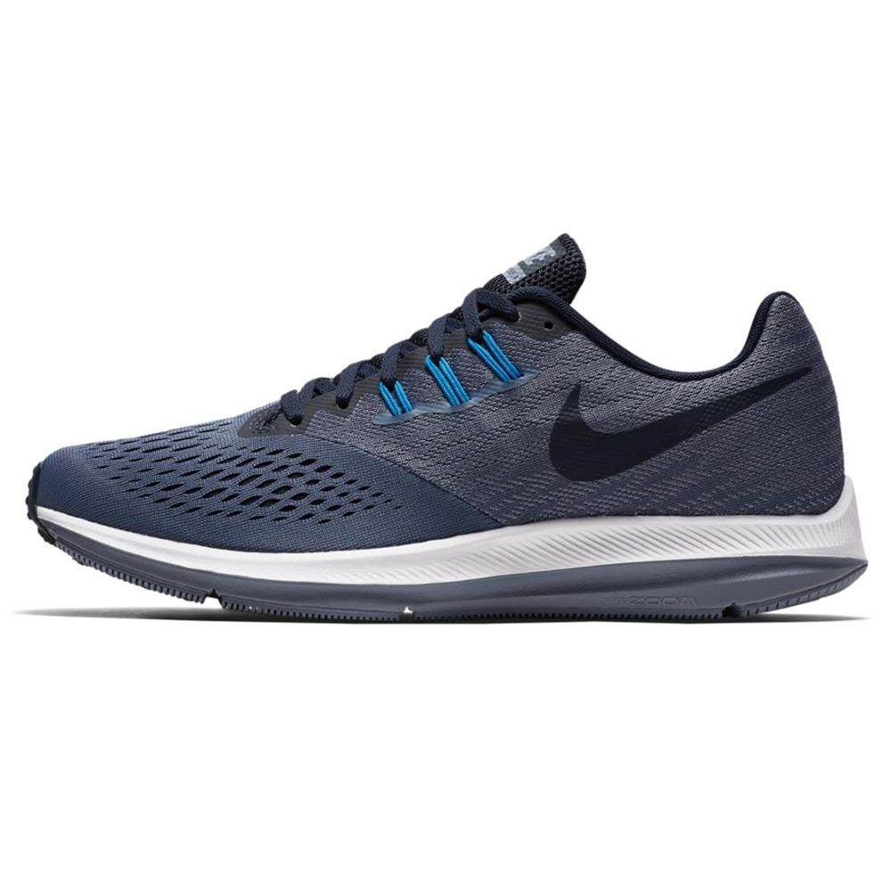 0e25352e4 ... real zapatillas nike air zoom winflo 4 azul hombre. cargando zoom.  38765 9484a