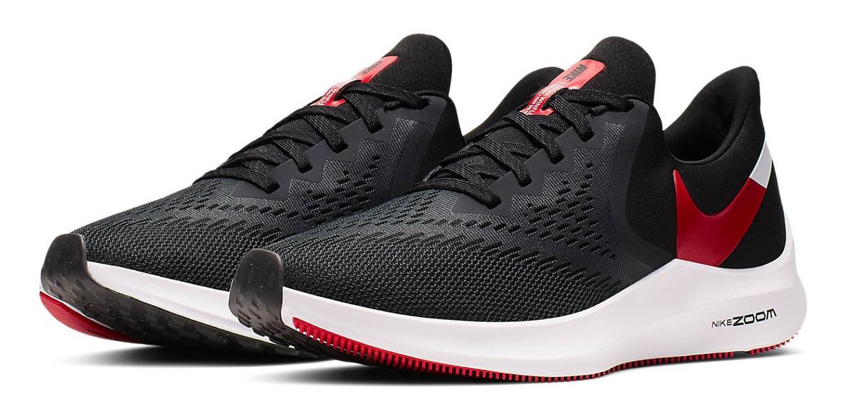 Zapatillas Nike Air Zoom Winflo 6 Hombre Running Originales