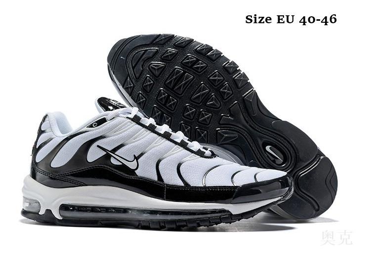 Zapatillas Nike Airmax 97 Tn Plus Blancas Hermosas