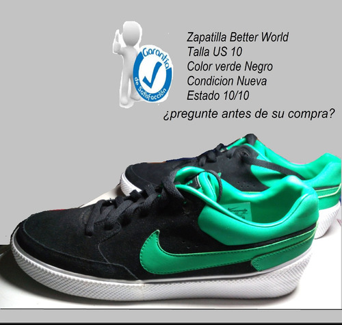 buy popular d5d3d 8fc4f zapatillas nike better world