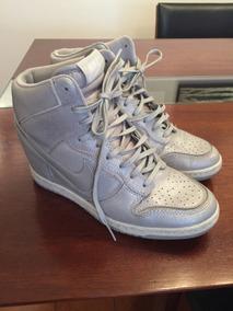 En Nike Plateado Zapatillas Novillo Pelo Botas De Mercado CodxBre