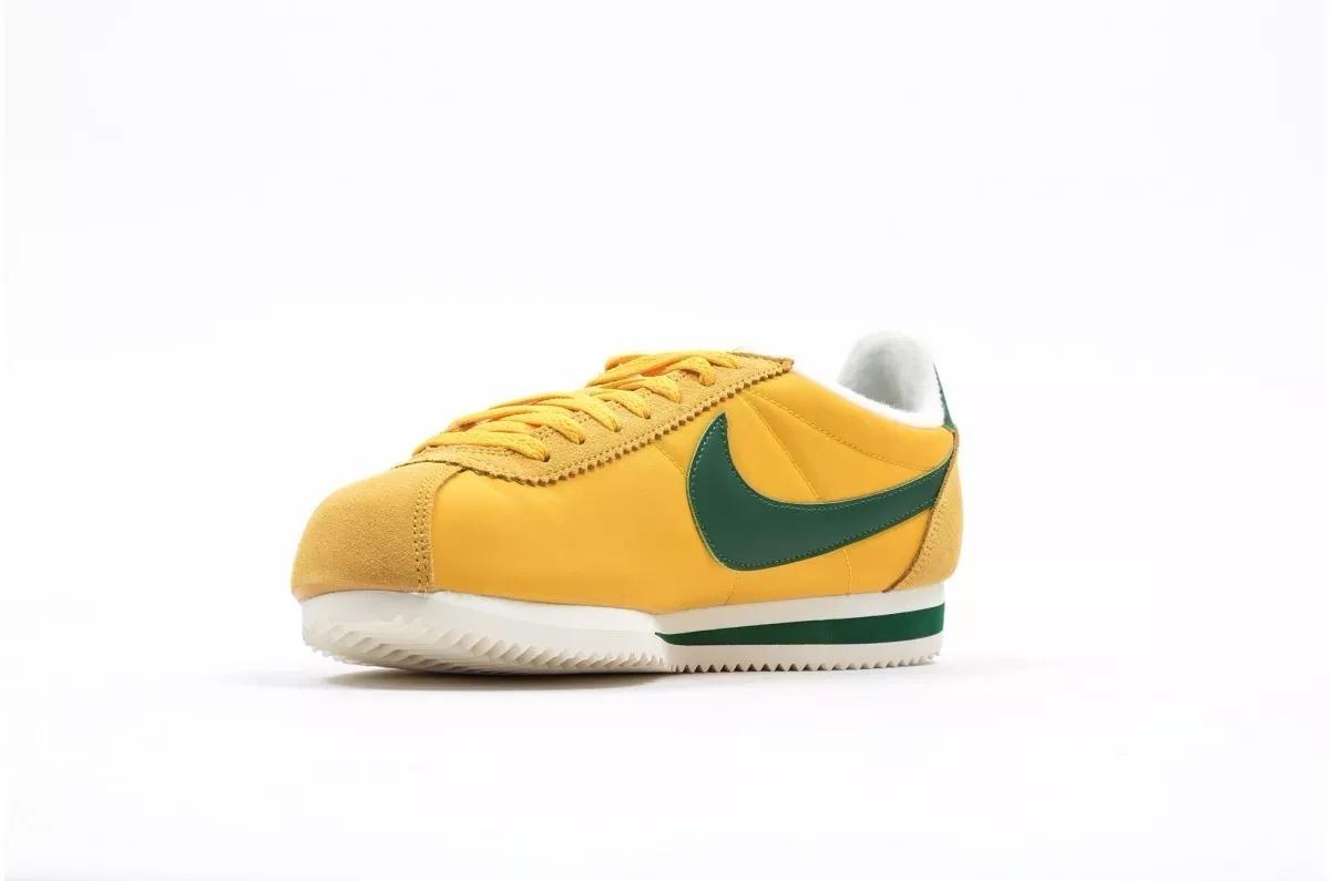 zapatillas nike cortez amarilla