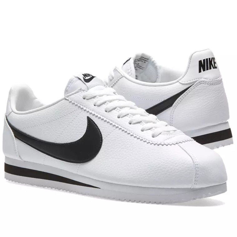 new concept fc28c e7e8b ... spain zapatillas nike cortez basic leather hombre blanco original 0b344  8fe80