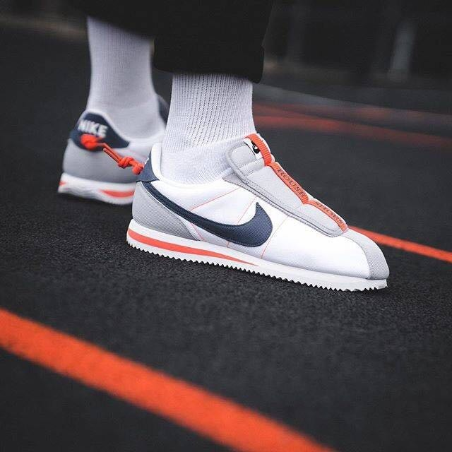 super populaire 5d660 41354 Zapatillas Nike Cortez Blanco Y Gris 36-45 Sport