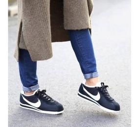 zapatillas nike cortez mujer negras