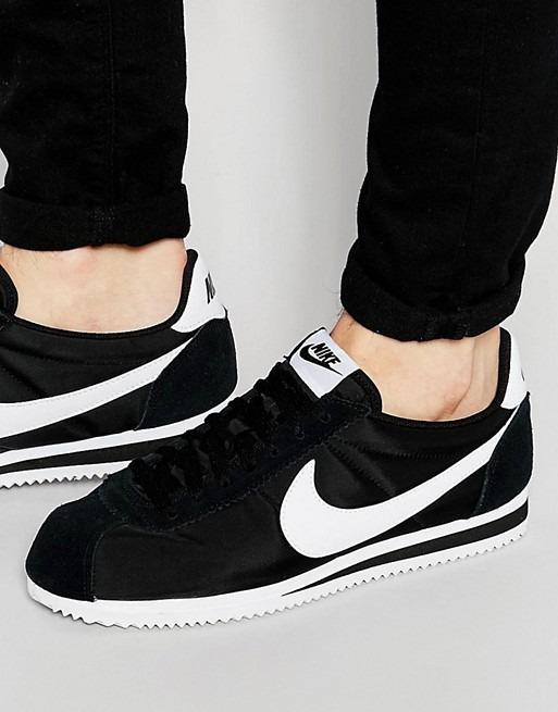 separation shoes 60e84 efb43 nike cortez nylon Hombre