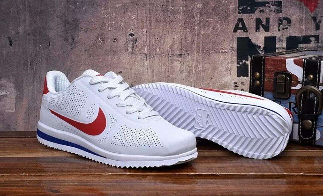 cb4a58e866d31 Zapatillas Nike Cortez Originales 100% Blanco   Rojo 270 Air - S ...