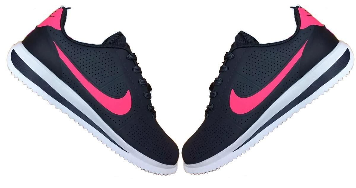 buy online 257e8 170dd ... best price zapatillas nike cortez ultra moire negro fucsia originales.  cargando zoom. dc6a6 d88b3