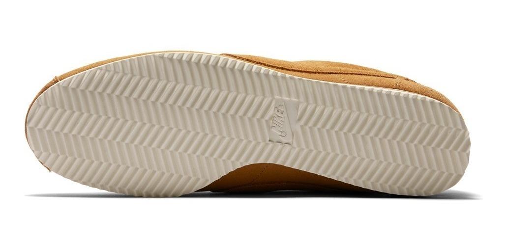 best sneakers 60bfa 2a571 Zapatillas Nike Cortez Wheat Crema Marrón Arena Nuevo 2018