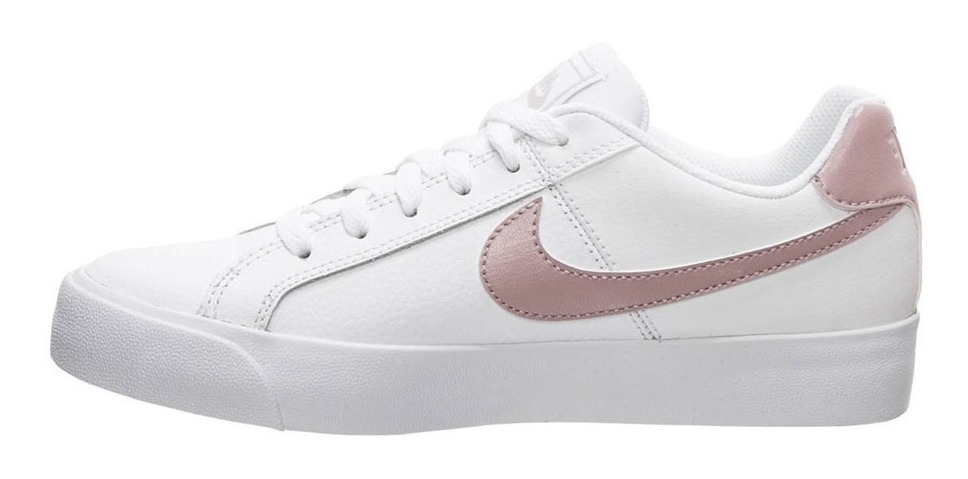 Zapatillas Nike Court Royales Blancas Para Mujer Ndph