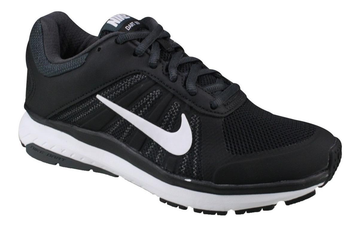 Zapatillas Nike Dart 9 MSL Blanco y Azul Marino