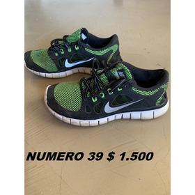 Zapatillas Nike De Niño Uasadas Impecables !!!!!!!!!!