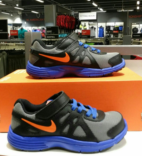 zapatillas nike de niños modelo nike revolution 2[3y=22ctms]