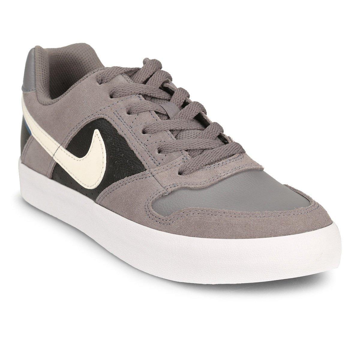 77e148d1e5e zapatillas nike delta force vulc - gris y negro - nuevas! Cargando zoom.
