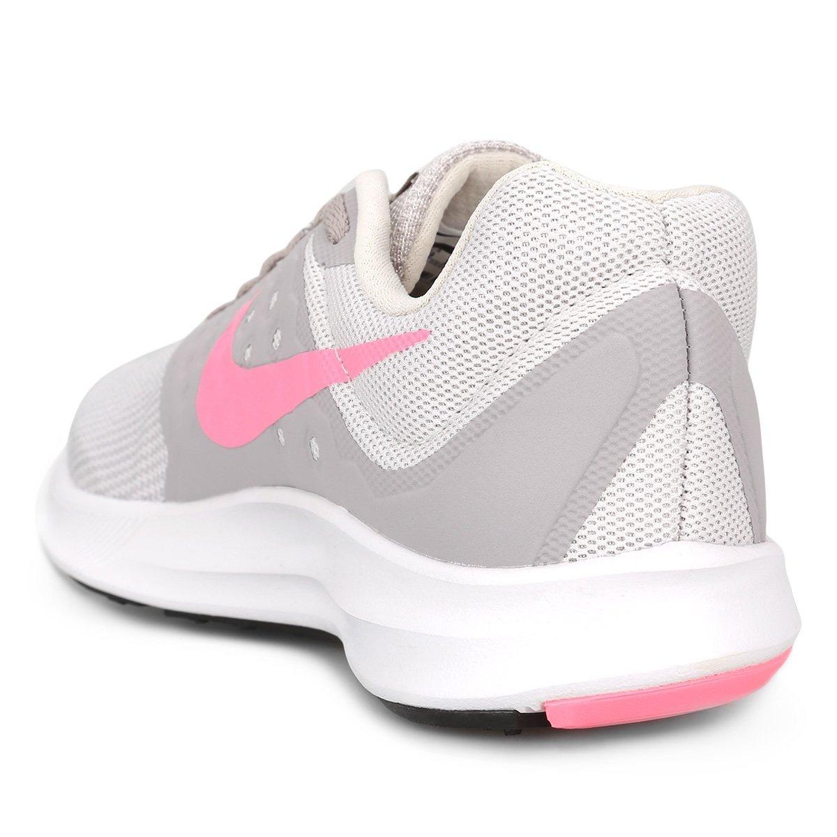 46b5949b298fc zapatillas nike downshifter 7 - gris y rosa -mujer. Cargando zoom.
