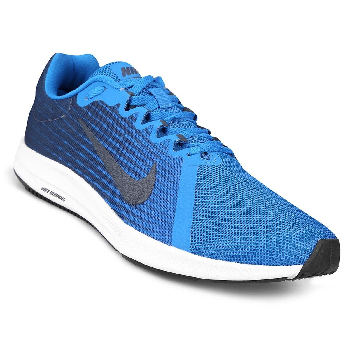 f25abb763eb39 zapatillas nike downshifter 8 - azul. Cargando zoom.