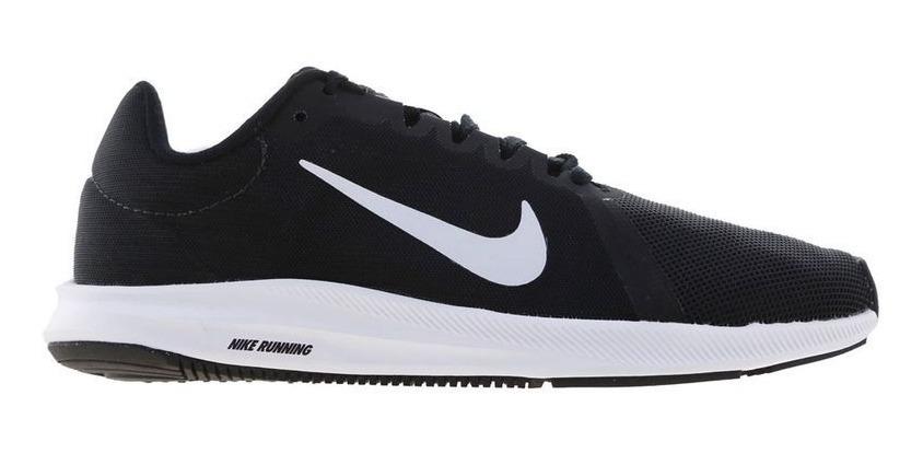 Zapatillas Nike Downshifter 8 Mujer Running Negras