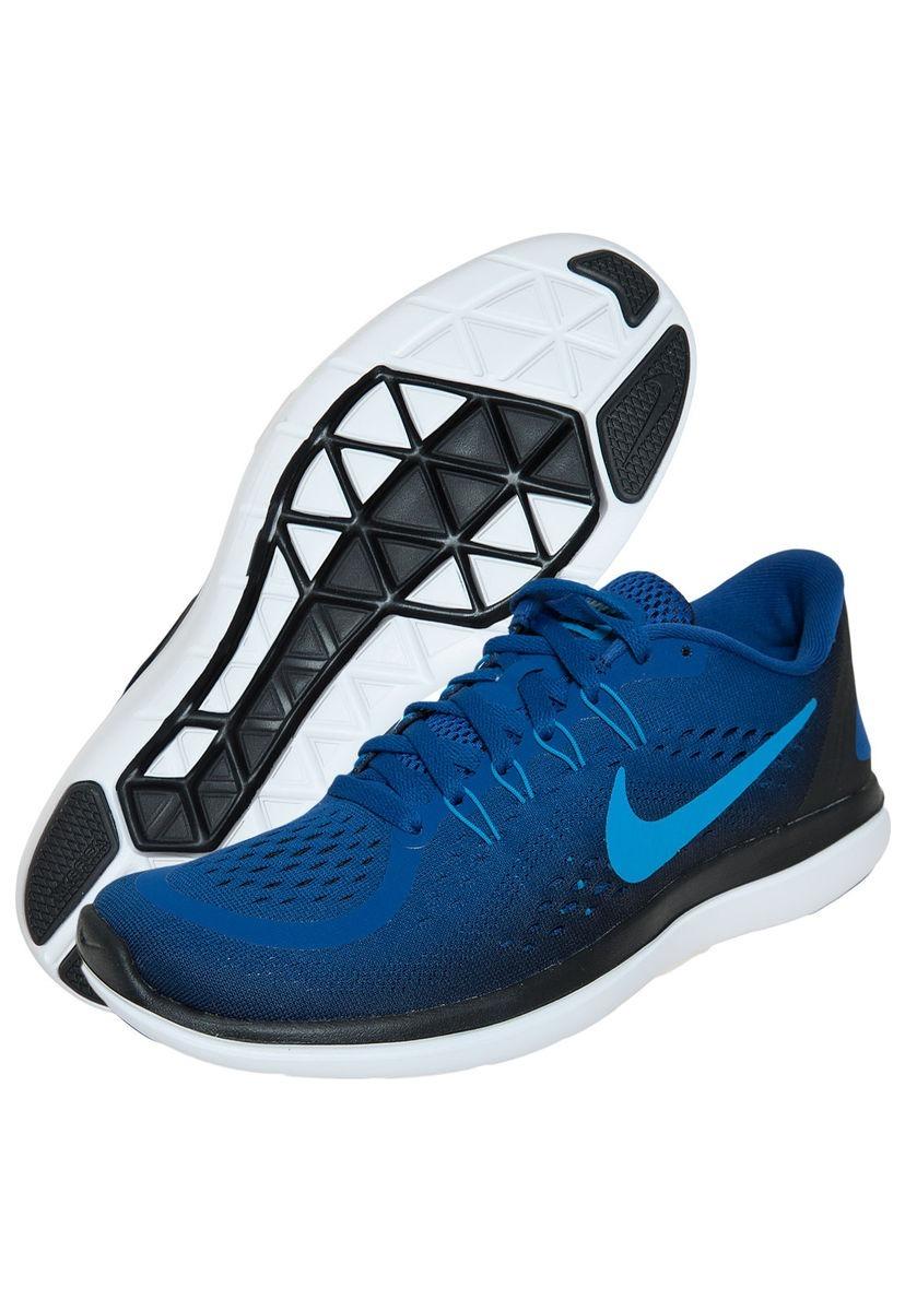 detailed look 8dd09 64632 Zapatillas Nike Flex Rn Azul 2017 Us 10.5 eur 44.5 cm 28.5 ...