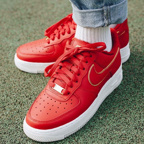 nike air force one mujer rojas