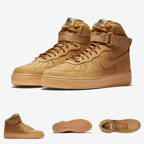 Zapatillas Nike Force 1 Flax High Botines Original