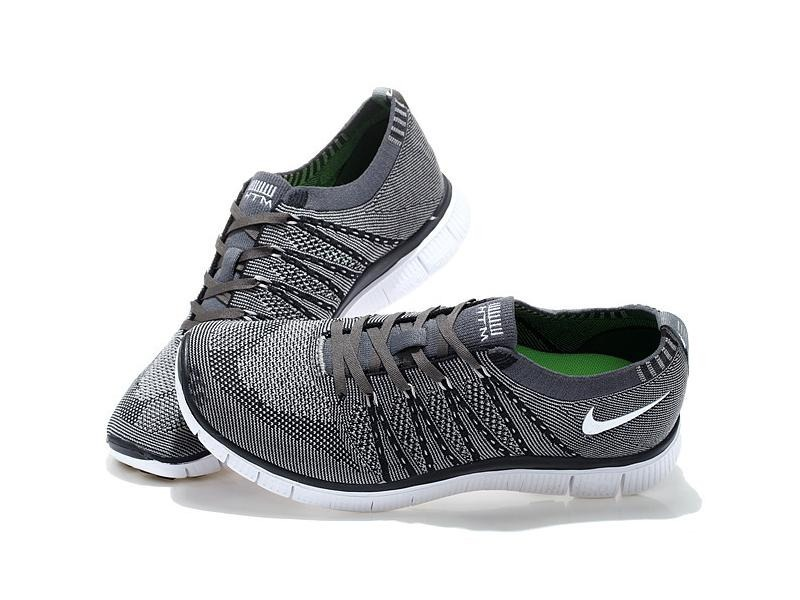 Chaussures  Clara Nike Free Flyknit Gris Clara Chaussures  Femme